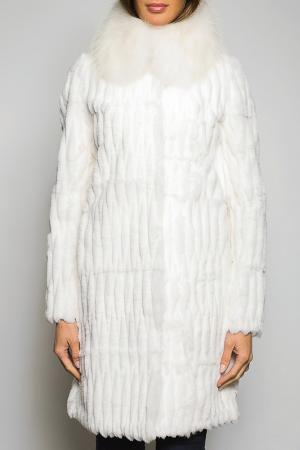 Шуба John & Yoko. Цвет: белый