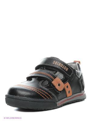 Ботинки Noto Kids. Цвет: черный