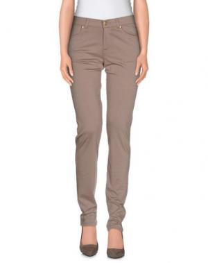 Повседневные брюки FERRANTE. Цвет: светло-коричневый