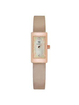 Часы ювелирные коллекция Q-City QWILL. Цвет: золотистый