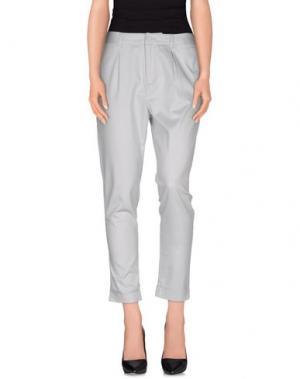 Повседневные брюки NOA. Цвет: серый