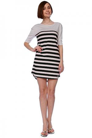 Платье женское  Creeper Drees Light Grey Zoo York. Цвет: белый,черный