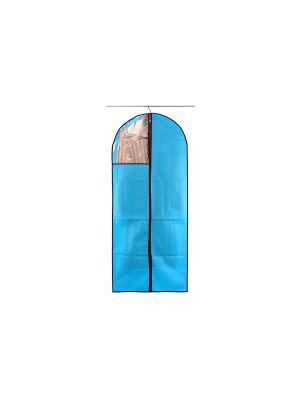 Чехол для одежды подвесной Звезды голубой EL CASA. Цвет: голубой