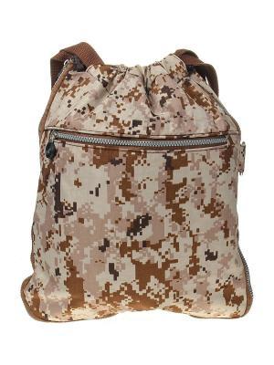 Рюкзак Infiniti. Цвет: коричневый, бежевый