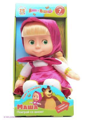 Мягкая игрушка Мульти-пульти Маша. Цвет: малиновый