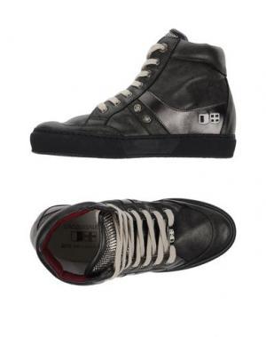 Высокие кеды и кроссовки D'ACQUASPARTA. Цвет: стальной серый