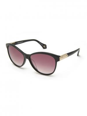 Солнцезащитные очки VW 906S 01 Vivienne Westwood. Цвет: черный