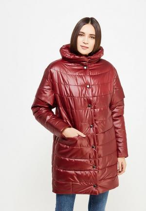 Куртка утепленная J-Splash. Цвет: бордовый
