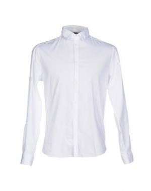 Pубашка COSTUME NATIONAL HOMME. Цвет: белый