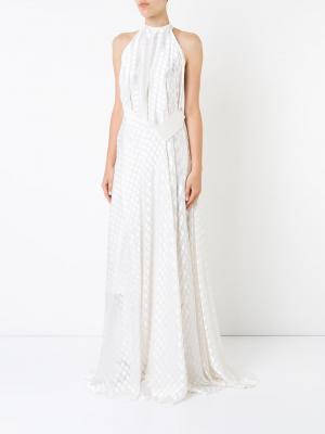 Платье Isabella Bianca Spender. Цвет: белый