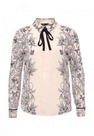 Блуза oodji. Цвет: розовый