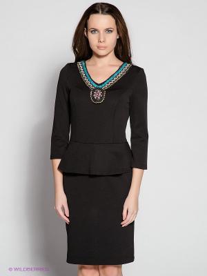 Платье Remix. Цвет: черный