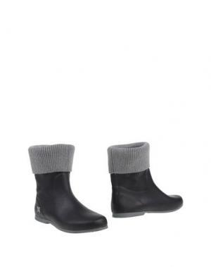 Полусапоги и высокие ботинки BUTTERFLY TWISTS. Цвет: стальной серый