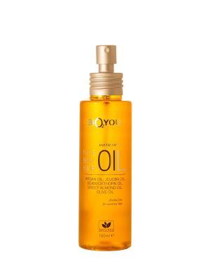 Универсальнoе маслo для лица, тела и волос, с аргановым маслом BIO2YOU. Цвет: светло-бежевый