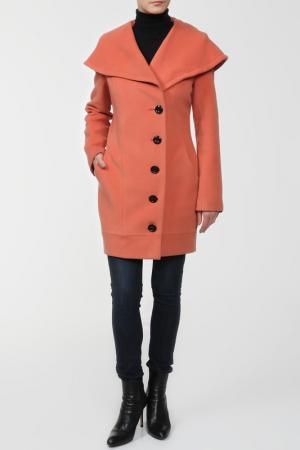 Пальто ELEGANT LADY. Цвет: коричневый