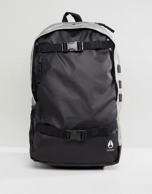 Nixon Рюкзак с ремешками для скейтборда Smith III. Цвет: черный