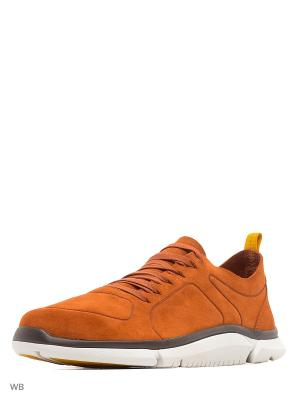 Кроссовки Clarks. Цвет: оранжевый
