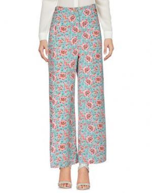 Повседневные брюки OPALINE. Цвет: бирюзовый