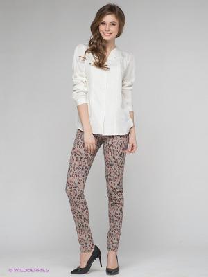 Брюки Vero moda. Цвет: светло-серый, коралловый, черный