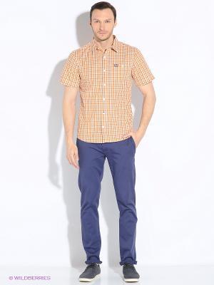 Рубашка BYRON SHIRT M Jack Wolfskin. Цвет: оранжевый
