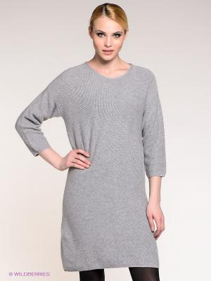 Платье Stefanel. Цвет: серый