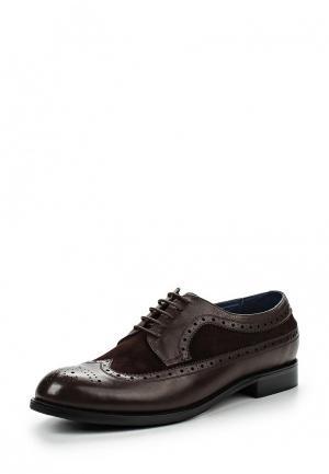 Туфли Guido Grozzi. Цвет: коричневый