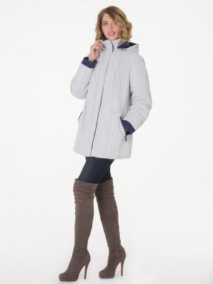 Пальто Black Daffodil. Цвет: светло-серый