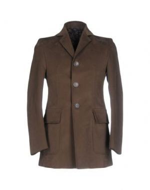 Пальто HARRY & SONS. Цвет: зеленый-милитари