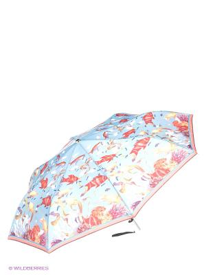Зонт Stilla s.r.l.. Цвет: голубой, коралловый