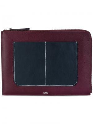 Чехол для iPad Ami Alexandre Mattiussi. Цвет: красный