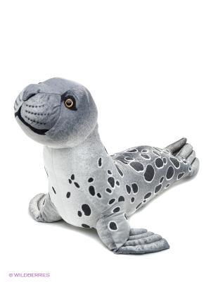Мягкая игрушка Тюлень большой серый, 102 см АБВГДЕЙКА. Цвет: серый