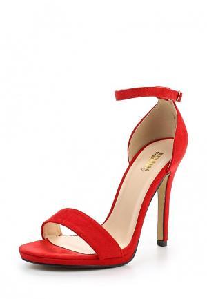 Босоножки Max Shoes. Цвет: красный