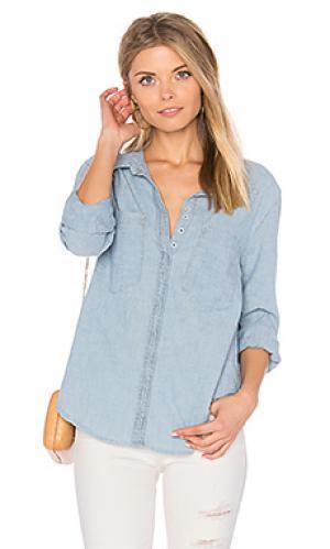 Рубашка shoreleave MCGUIRE. Цвет: нежно-голубой