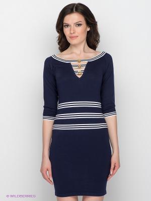 Платье Sparkle. Цвет: синий, белый
