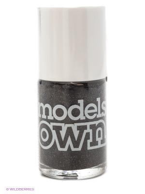 Лак для ногтей, Glitter Thunder and Lightening  Models Own. Цвет: серый