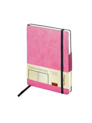 Ежедневник b6 на резинке zenitн (розовый) Bruno Visconti. Цвет: розовый