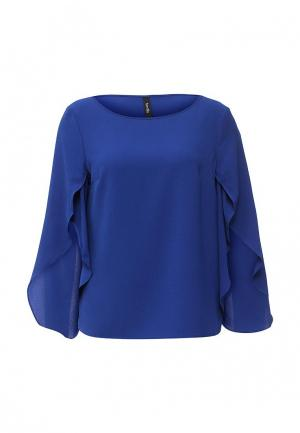 Блуза Bestia. Цвет: синий