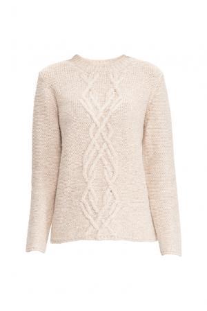 Джемпер 136706 Sweet Sweaters. Цвет: бежевый