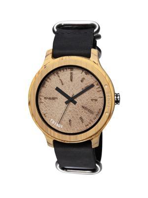 Часы Tacs Nature L Brown/Black. Цвет: коричневый