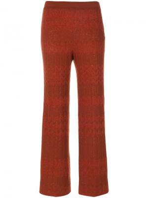 Укороченные брюки Missoni. Цвет: коричневый