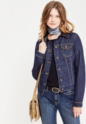 Куртка джинсовая Rifle. Цвет: синий