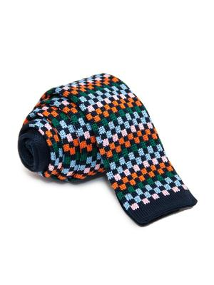 Галстук Churchill accessories. Цвет: черный, темно-синий, синий, лазурный, бирюзовый, светло-зеленый, серый, салатовый, темно-серый, малиновый, светло-коралловый, красный, оранжевый, розовый