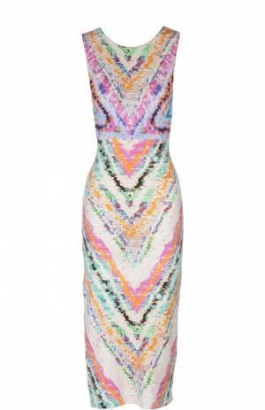 Пляжное платье Mara Hoffman. Цвет: разноцветный