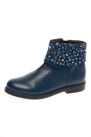 Ботинки Ciao Kids. Цвет: синий