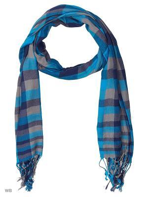 Палантин Vita pelle. Цвет: голубой, синий