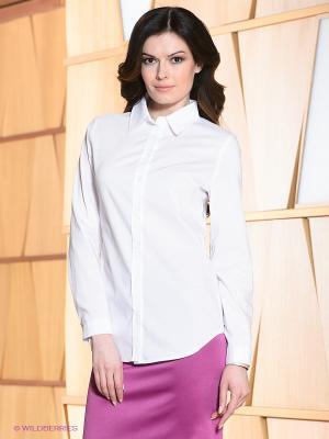 Блузка Allezye. Цвет: белый