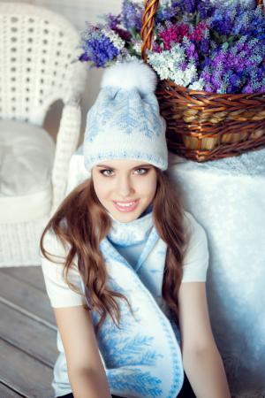 Комплект пэрис (шапка+шарф) Landre