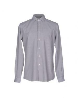 Pубашка FABIO MODIGLIANI. Цвет: темно-коричневый