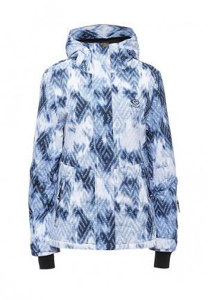Куртка горнолыжная Rip Curl. Цвет: синий
