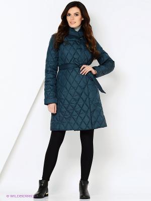 Пальто STEINBERG. Цвет: зеленый